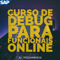 Imagem do produto Curso de Debug/ABAP para Funcionais