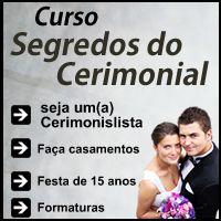 Imagem do produto SEGREDOS DO CERIMONIAL  (Curso vídeo aulas)