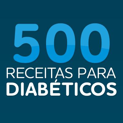 Imagem do produto 500 Receitas para Diabéticos