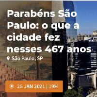 Imagem do produto Parabéns São Paulo: o que a  cidade fez nesses 467 anos - Experiência guiada online - Lote 1