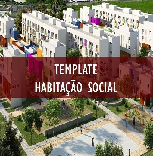Imagem do produto TEMPLATE HABITAÇÃO SOCIAL