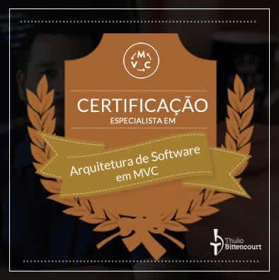 Imagem do produto Certificação Especialista em Arquitetura MVC