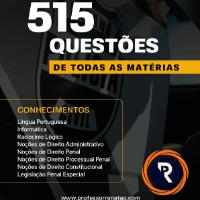 Imagem do produto 515 QUESTÕES COMENTADAS PC-PR / PDF