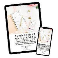 Imagem do produto Ebook Como Bombar no Instagram