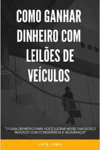 Imagem do produto E-Book Como Ganhar Dinheiro Com Leilões de Veículos