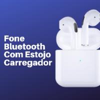 Imagem do produto Fone Sem Fio, Com Estojo de Carregador 1 Par de Fones (OB)