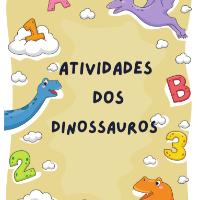 Imagem do produto Apostila de Passatempos dos Dinossauros