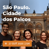 Imagem do produto São Paulo. Cidade dos Palcos - Experiência guiada online - Lote 1