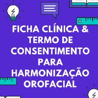 Imagem do produto Ficha Clínica e Termos para Harmonização OroFacial