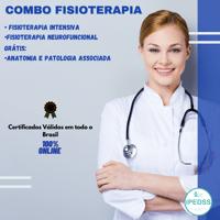 Imagem do produto COMBO FISIOTERAPIA 960 HORAS DE CERTIFICAÇÃO - 3 CURSOS: FISIOTERAPIA INTENSIVA + FISIOTERAPIA NEUROFUNCIONAL -  GRÁTIS CURSO DE ANATOMIA E PATOLOGIA ASSOCIADA