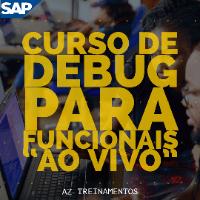 """Imagem do produto Curso de Debug/ABAP para Funcionais """"Ao Vivo"""""""