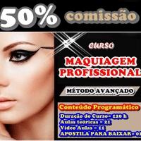 Imagem do produto Curso de Maquiagem - PASSO Á PASSO ( COM CERTIFICADO) - 1,1