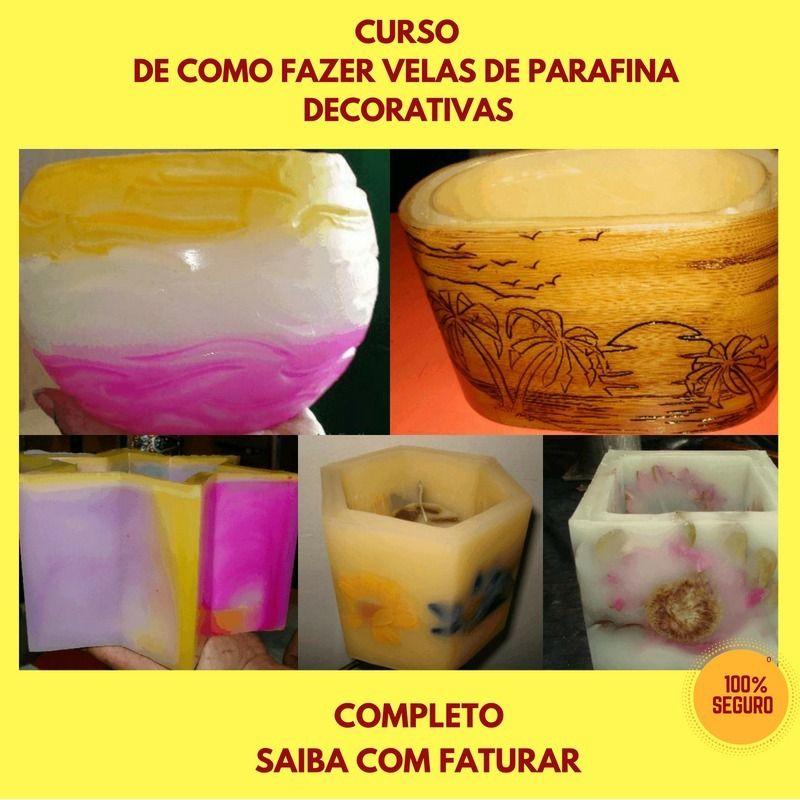 Imagem do produto Curso de Fabricar Velas De Parafina Decorativas