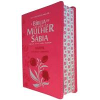 Imagem do produto Bíblia De Estudo Da Mulher Sábia Letra Grande Harpa Corinhos