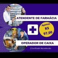 Imagem do produto CURSO ATENDENTE DE FARMÁCIA EAD - GANHA DE BRINDE CURSO OPERADOR DE CAIXA + CURSO DE ATENDENTE DE LOJA 3 CERTIFICADO REGISTRADO