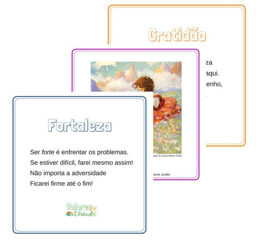Imagem do produto Cartões das Virtudes